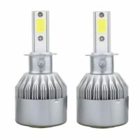 H3 CREE LED Car Headlight Light Bulbs Bulb 6000K  Xenon 2YR Australian Warranty