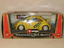 burago 1/24volkswagen new beetle cup - boxed and unused.