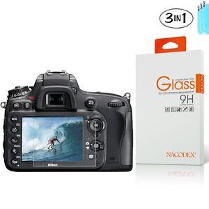 [3x] NX Tempered Glass Screen Protector For Nikon D7100 D7200 D800 D600 D610