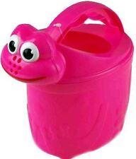 Childrens Frog Watering Can Pink Beach Toys Activity Children Kids Garden Toy