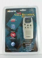 Memorex Digital Voice Recorder 120 Minutes Tapeless MB2052 Silver Handsfree New
