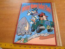 1990s Mickey Mouse Safari Club licensing binder press kit model sheets etc. HTF