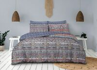 Ethnic Traveller Duvet Cover Bedding Set - Single, Double, King and Superking