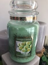 22 OZ YANKEE CANDLE COOKIE SWAP CRUNCHY PISTACHIO VANILLA LARGE JAR CANDLE NEW