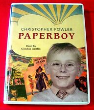 Christopher Fowler Paperboy 7-Tape UNABR.Audio Gordon Griffin Childhood Memoir