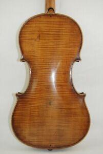 Sehr alte feine Geige/ Violine, Zettel/ Label Josef Guanertus 1727