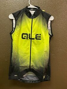 Alé Cycling PRR Wind Vest - Fluo Yellow - Men's XS-XXL