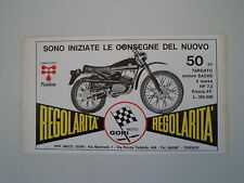 advertising Pubblicità 1972 MOTO GORI 50 REGOLARITA'