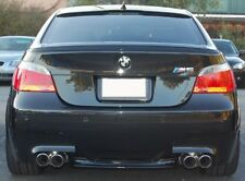 Bmw E60 5 series saloon rear boot trunk spoiler lèvre wing sport garniture couvercle M5 m -