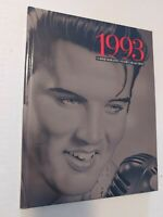 1993 Commemorative Stamp Collection Book Elvis on Cover Hardback  No Stamps