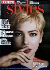 French mag STYLES 2012: MICHELLE WILLIAMS