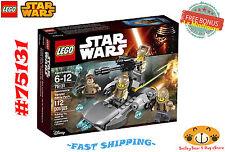 LEGO Star Wars 75131 Resistance Trooper Battle PK 112 pcs Ages 6-12 + FREE BONUS