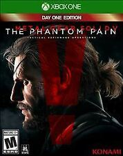 Metal Gear Solid V The Phantom Pain Microsoft Xbox One, 2015 Mature Action Game