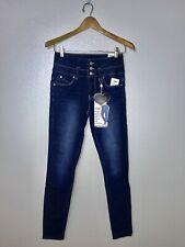 333fb0de1e YMI High Rise Skinny Jeans Wannabettabutt Triple Button Stacked-Waist Sizes  1-13