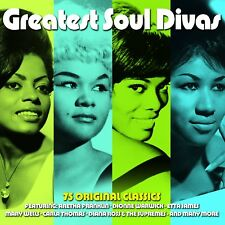 GREATEST SOUL DIVAS Sugar Pie DeSanto,Crystals,Tina Turner,Mable John 3CD NEUF
