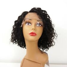 [Sample Sale]New 10A Unprocessed 100% Human Hair Lace Wig Natural Wave Bob