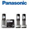 Panasonic KX-TGF373S Link2Cell Bluetooth 3 Cordless Phones  Answering Machine