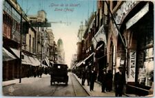 "Lima, Peru Postcard ""Giron de la Union"" Street Scene w/ 1910s Cancel"