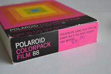 Film/papier polaroid colorpack type 88 - perempted mars 1976 -