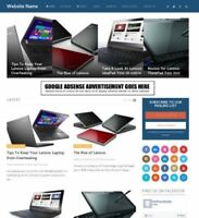 LAPTOPS SHOP  - Professionally Designed Affiliate Website Business For Sale