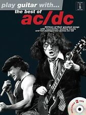 PLAY GUITAR WITH THE BEST OF AC/DC TAB TABLATURE SHEET MUSIC SONG BOOK W/AUDIO
