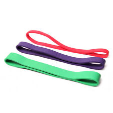 3x Resistance Loop Bands Set Strength fitness Gym exercise Yoga workout Pull Up