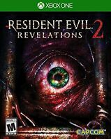 NEW Resident Evil: Revelations 2 (Microsoft Xbox One, 2015)