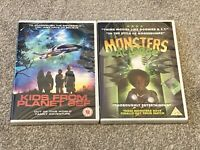 Monsters at Large & Kids from Planet 62F DVDS X 2, NEW AND SEALED. FAMILY FUN.
