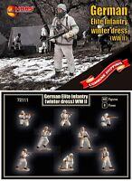 Mars Figures 72111 German Elite Infantry in winter dress (WWII) 1/72