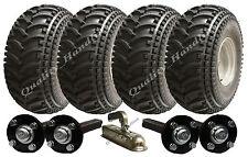 DOUBLE ESSIEU ATV REMORQUE Kit,quad remorque,Roues MOYEU & KIT + Attelage 620kg