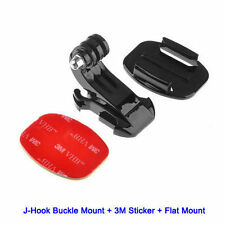 SUPPORT 3M Accessoires Adaptateur GOPRO HERO 1 2 3 3+ 4 casque fixation j-hook