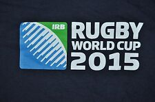 T-SHIRT LARGE RUGBY WORLD CUP 2015 IRB SHIRT