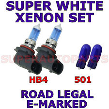 FITS JAGUAR XJ SALOON 1997 - 2003 SET OF HB4 501 XENON LIGHT BULBS