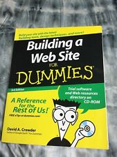 Building a Web Site For Dummies By David A. Crowder. 9780470149287