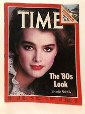 Time magazine Febuary 9 1981, Brooke Shields