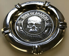 Sons of Anarchy Metal Cigar Ashtray - 4 Cigar Rests - New