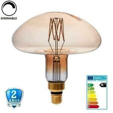 """Bombilla Led E27 8W MS200 700lm 300º 1800K Cristal """"Oro"""" Regulable (Dimmable)"""