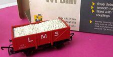 Wrenn Railways W5032 Plank Wagon LMS (with load) red P3 Long Box