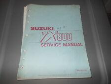 Factory OEM Suzuki 1990 VX800 L Service Manual 10chpt