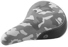 DIAMONDBACK URBAN PRO Camo Grey BMX Padded  Saddle SEAT camouflage NEW 8MM RAIL