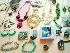 Wholesale Jewelry lot grab bag necklaces, earrings & more ALL NEW! 20 tags/cards