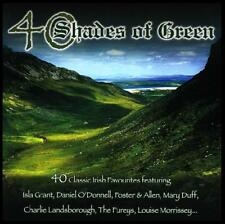 40 SHADES OF GREEN (2 CD) DANIEL O'DONNELL~FUREYS~ISLA GRANT~IRELAND~IRISH *NEW*