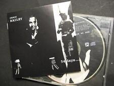 "CHRIS BAILEY ""54 DAYS AT SEA"" - CD - THE SAINTS"