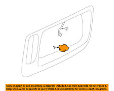 GM OEM License Plate Light-Lamp 5978317