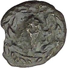 Elaia in Asia Minor 4th-3rdCentBC Ancient Greek Coin Athena Corn-grain  i46041