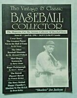 The Vintage & Classic Baseball Collector magazine #5 January/February 1996