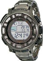 CASIO PRW2500T-7 Pro Trek Atomic Solar Triple Sensor Grey Silver Men's Watch