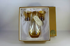 Franco s.r.l. Creazioni Esclusive Jeweled Wine Decanter w/ Glasses  ~NEVER USED~