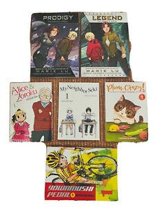 Manga Graphic Novels Marie Lu Legend prodigy Seki Zoroku Plum Crazy Books $86