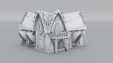 Warhammer 9th Age décors impression 3D Grande maison elfique